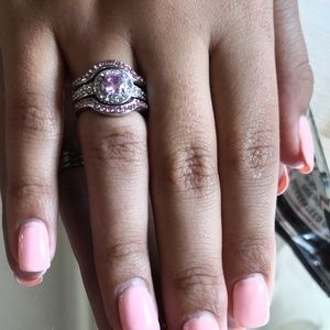 3-rings.925.Silver.8-sz.New.